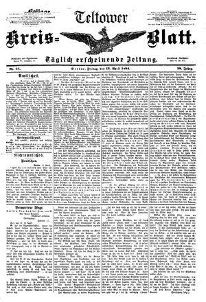 Teltower Kreisblatt vom 13.04.1894