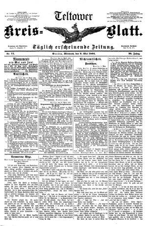 Teltower Kreisblatt vom 02.05.1894