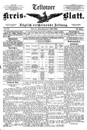 Teltower Kreisblatt vom 03.05.1894