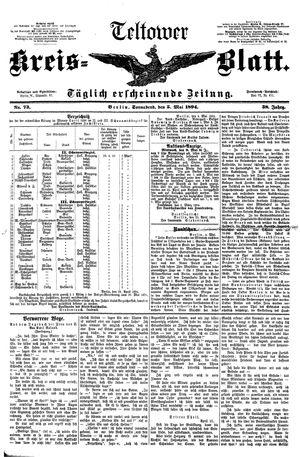 Teltower Kreisblatt vom 05.05.1894