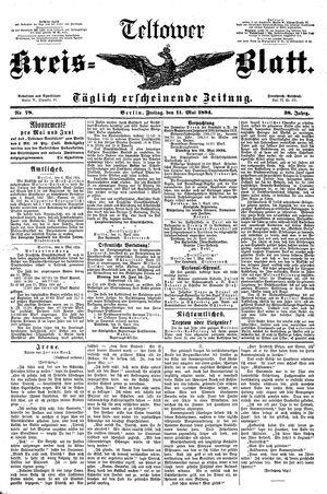 Teltower Kreisblatt vom 11.05.1894