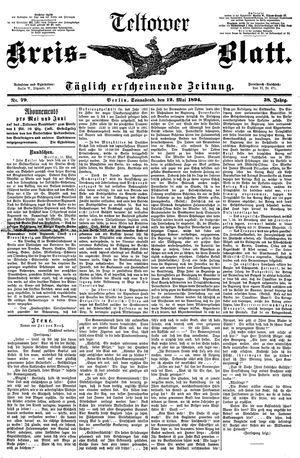 Teltower Kreisblatt on May 12, 1894