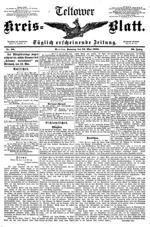 Teltower Kreisblatt vom 13.05.1894