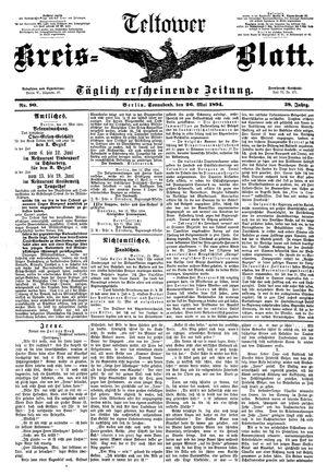 Teltower Kreisblatt vom 26.05.1894