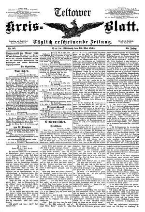 Teltower Kreisblatt vom 30.05.1894