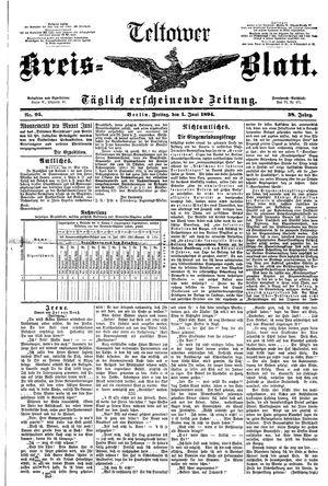 Teltower Kreisblatt vom 01.06.1894