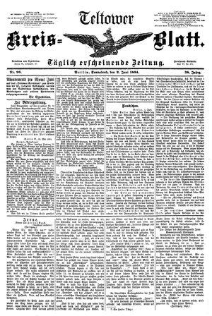 Teltower Kreisblatt vom 02.06.1894