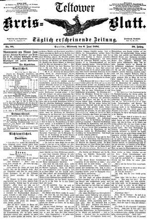 Teltower Kreisblatt vom 06.06.1894