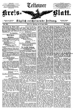 Teltower Kreisblatt vom 08.06.1894