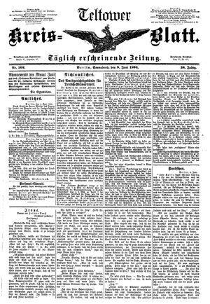 Teltower Kreisblatt vom 09.06.1894