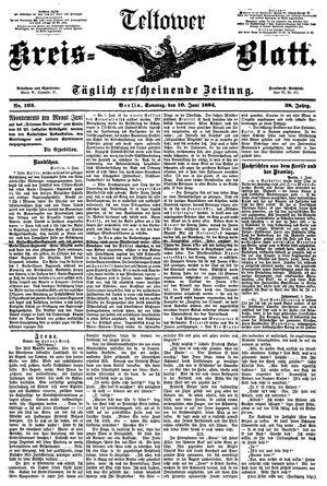 Teltower Kreisblatt vom 10.06.1894