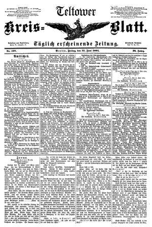 Teltower Kreisblatt vom 15.06.1894