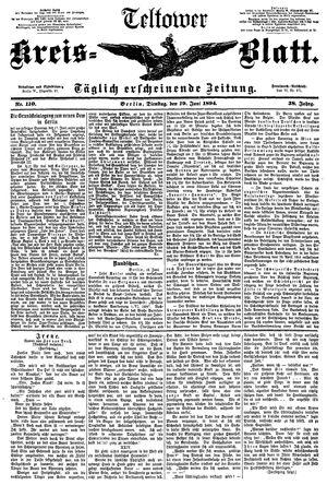 Teltower Kreisblatt vom 19.06.1894