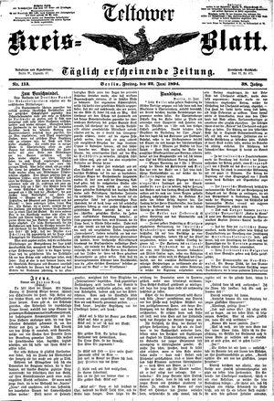 Teltower Kreisblatt vom 22.06.1894