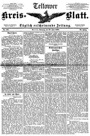 Teltower Kreisblatt vom 24.06.1894