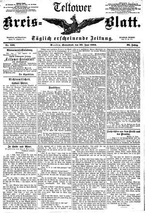 Teltower Kreisblatt vom 30.06.1894