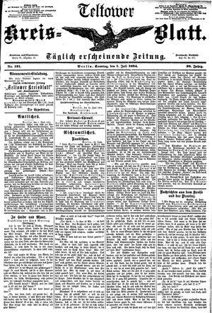 Teltower Kreisblatt vom 01.07.1894