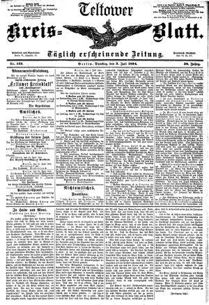 Teltower Kreisblatt vom 03.07.1894