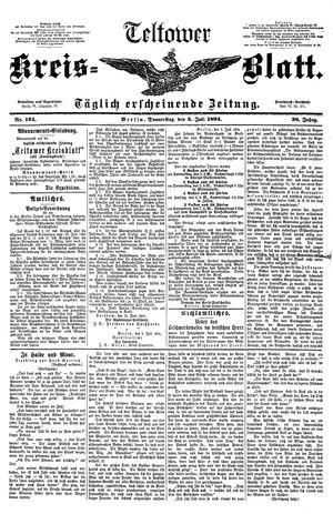Teltower Kreisblatt vom 05.07.1894
