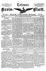 Teltower Kreisblatt (17.11.1894)