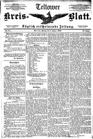 Teltower Kreisblatt vom 04.01.1895