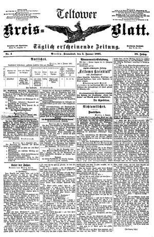 Teltower Kreisblatt vom 05.01.1895