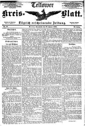 Teltower Kreisblatt vom 19.01.1895