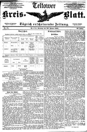 Teltower Kreisblatt vom 20.01.1895