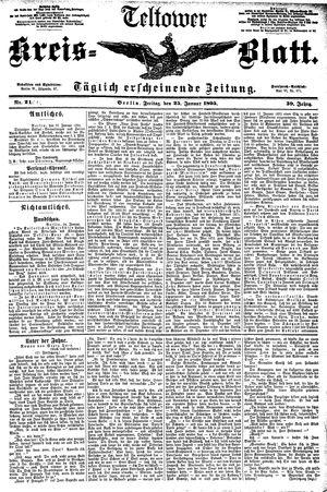 Teltower Kreisblatt vom 25.01.1895