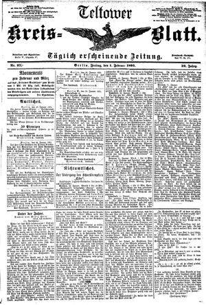 Teltower Kreisblatt vom 01.02.1895
