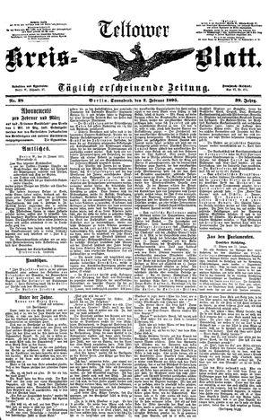Teltower Kreisblatt vom 02.02.1895