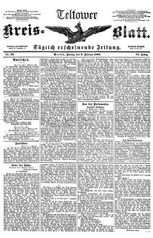 Teltower Kreisblatt vom 08.02.1895