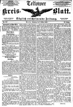 Teltower Kreisblatt vom 03.03.1895