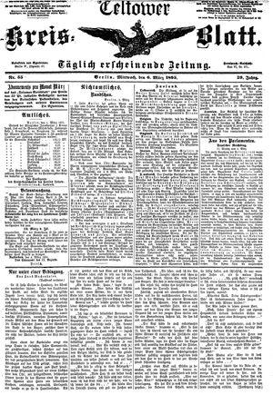 Teltower Kreisblatt vom 06.03.1895