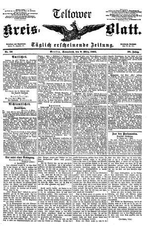 Teltower Kreisblatt vom 09.03.1895