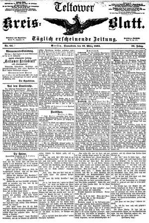Teltower Kreisblatt vom 16.03.1895