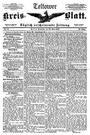 Teltower Kreisblatt vom 28.03.1895