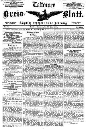 Teltower Kreisblatt vom 30.03.1895