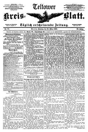 Teltower Kreisblatt vom 31.03.1895