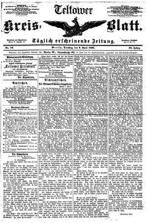Teltower Kreisblatt vom 02.04.1895