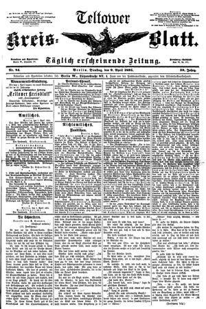 Teltower Kreisblatt vom 09.04.1895