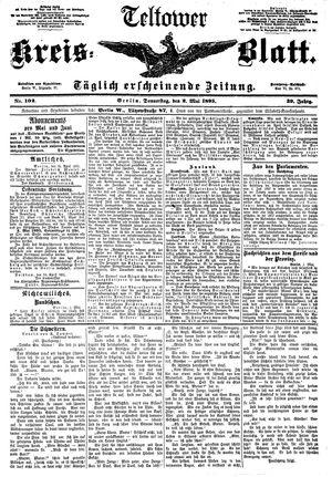 Teltower Kreisblatt vom 02.05.1895