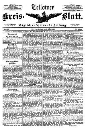 Teltower Kreisblatt vom 03.05.1895