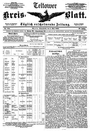 Teltower Kreisblatt vom 04.05.1895