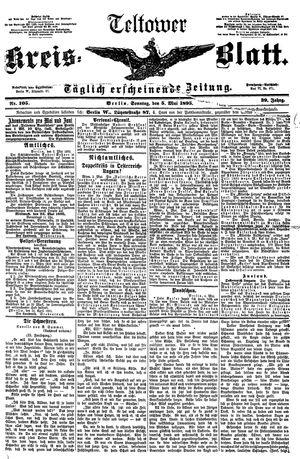 Teltower Kreisblatt vom 05.05.1895