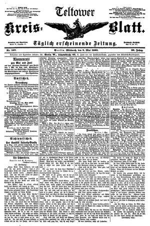 Teltower Kreisblatt vom 08.05.1895