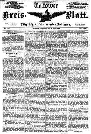 Teltower Kreisblatt vom 09.05.1895