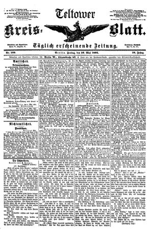 Teltower Kreisblatt on May 10, 1895