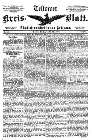 Teltower Kreisblatt vom 14.05.1895