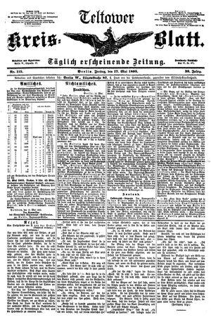 Teltower Kreisblatt vom 17.05.1895